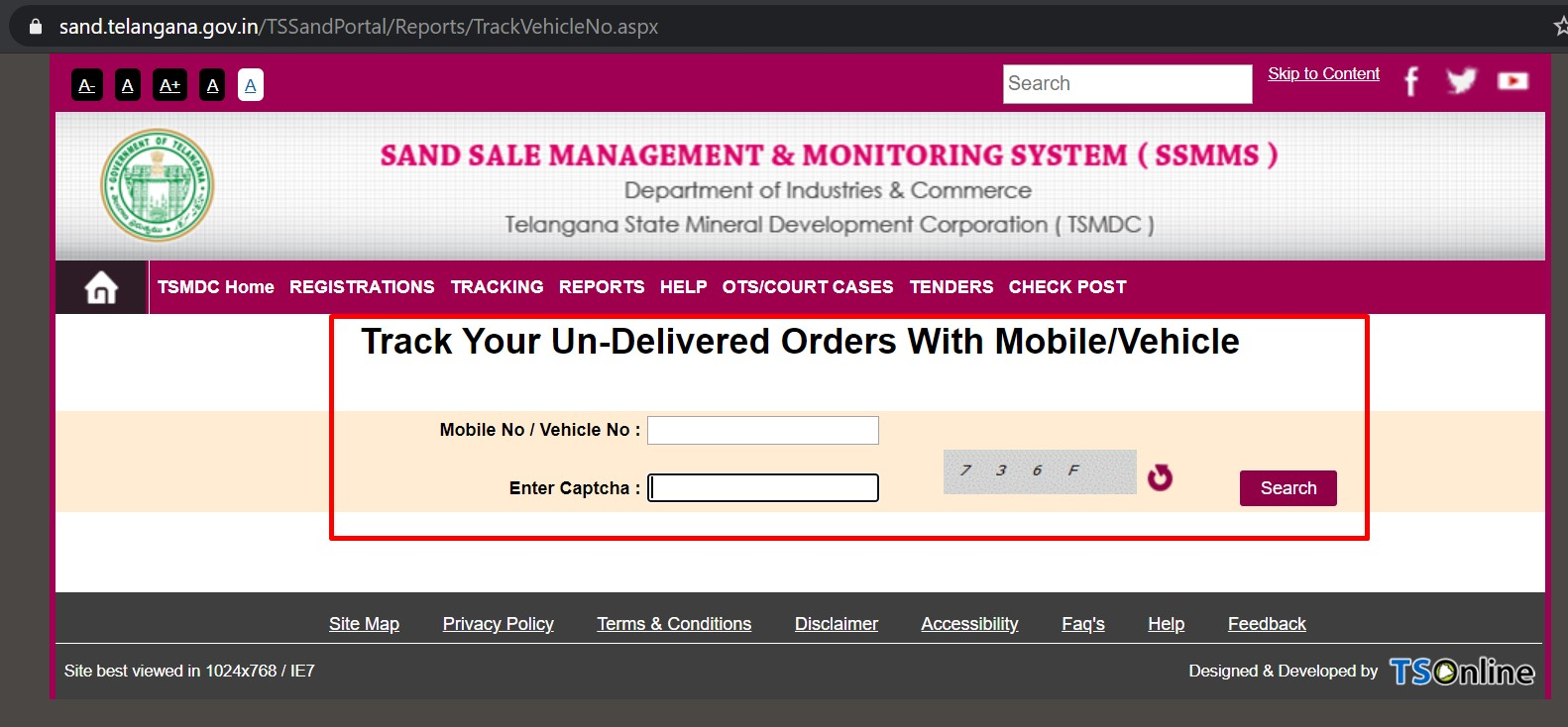 Track Undelivered Orders