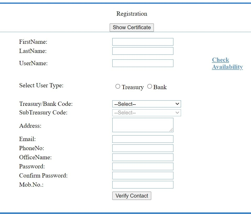 Paymanager Bank Registration