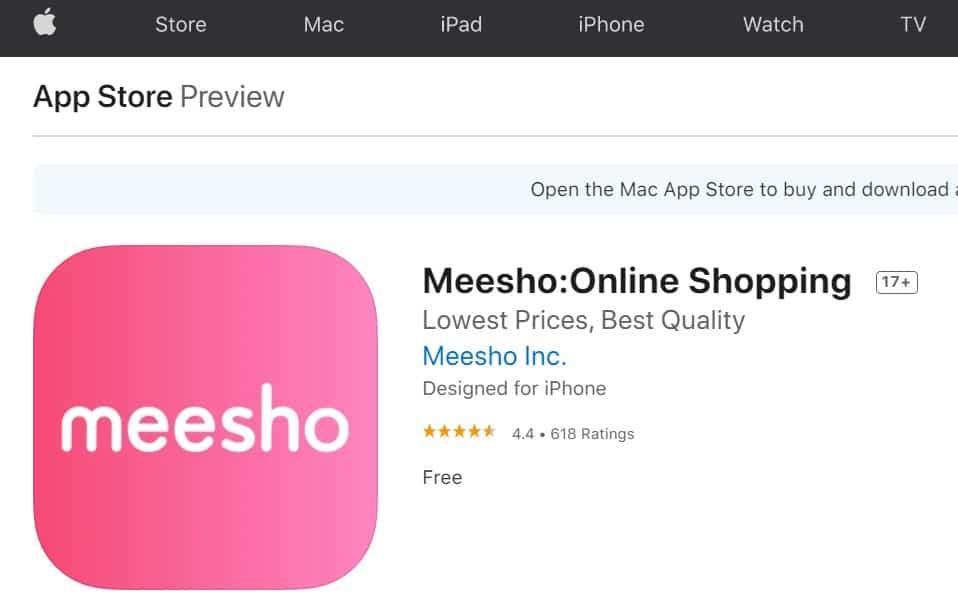 Meesho Mobile App
