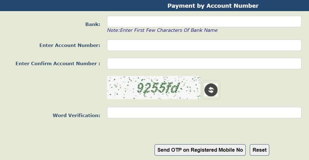 DBT Payment Status